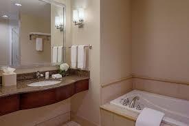 a bathroom at hilton garden inn jackson downtown