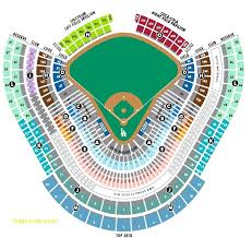 Dodger Stadium Seating Chart 2019 Dodger Stadium Seating Chart Luxury Angels Stadium Seating