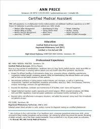 Veterinary Assistant Resume Examples Magnificent Medical Assistant Resume Example Fresh Cma Skills Yeniscale Pour
