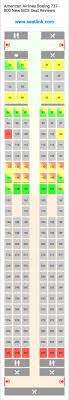 American Airlines 738 Seating Chart American Airlines Boeing 737 800 New Mce Seating Chart