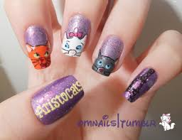 Aristocats nail design | Disney | Pinterest | Aristocats, Disney ...