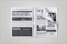 Newspaper Template Psd 23 Free Newspaper Templates Psd Doc Pdf Ppt Free