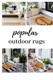 the best outdoor rugs for your outdoor living spaces