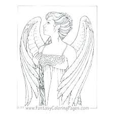 Angel Coloring Page Luvsiteinfo