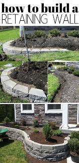 one of the best retaining wall ideas