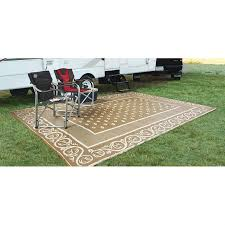 proven outdoor rv rugs guide gear 9x12 reversible patio mat 499643
