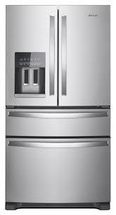 lg french door refrigerator freezer. whirlpool 24.5-cu ft 4-door french door refrigerator with ice maker (fingerprint lg freezer i
