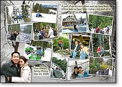 Example Of A Collage Photo Collage Layout Examples Photo Collage Puzzles
