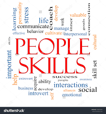 people skills word cloud concept great stock illustration people skills word cloud concept great terms such as emotional success interpersonal