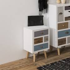scandinavian bedroom furniture. kourtney 4 drawer bedside table scandinavian bedroom furniture s