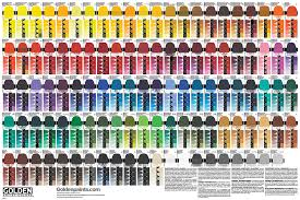 Glaze Color Chart Drawdown Color Chart Poster Now Available Just Paint
