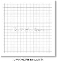 Art Print Of Graph Paper Background Barewalls Posters Prints