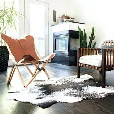 faux animal hide rugs skin rug cabin lodge rustic decor area southwestern cow faux animal hide rugs