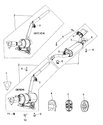 2010 chrysler town country exhaust system diagram i2236940