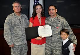 Korengal Valley STO receives Bronze Star with Valor Air Force