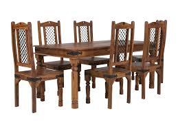 Massivum Essgruppe Merlin Mit Tisch Und 6 Stühlen Wayfairde