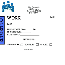 Free Doctors Note For Work Free Printable Doctors Note For Work Doctor Notes Icojudge Co