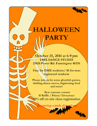 Halloween Party Flyer In Word And Pdf Formats