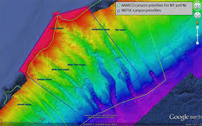 What Do The Colors Denote In A Bathymetric Chart What Is The Difference Between A Topographic And A