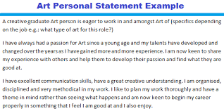 art personal statement twenty hueandi co art personal statement