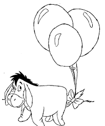 Small Picture Coloring Pages Of Eeyore Disney Archives Mente Beta Most