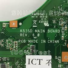 Online Shop <b>KEFU</b> K53S For <b>ASUS</b> A53S <b>K53SD</b> K53S K53E REV ...