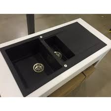 Swanstone Granite Kitchen Sinks Granite Sink Quartz Wash Basin Hgy003 China Sink Granite