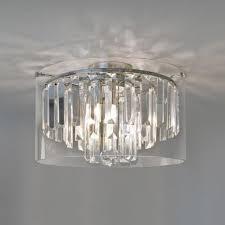 asini flush fitting bathroom chandelier ip44
