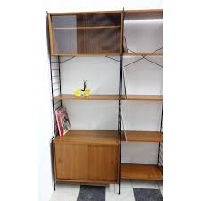 Small Picture Large WHB wall unit in wood and metal 1960s Design Market
