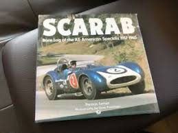 race log details about scarab race log of the all american specials 1957 1965 lerner preston