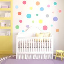 nursery decals for walls multi sized sorbet color polka dot decals wall  dressed up multi sized