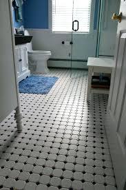 black and white ceramic floor tile retro black white bathroom floor tile ideas and pictures black