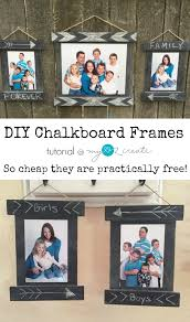 build your own diy chalkboard frames with this quick and easy tutorial a great way