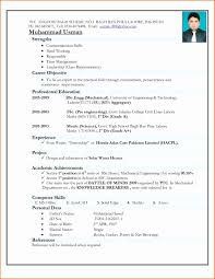 Mba Fresher Resumes Perfect Resume