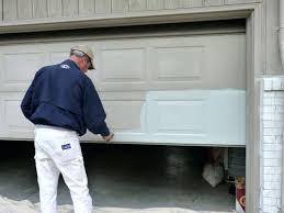 painting garage door painting garage door painting metal garage door roller
