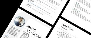 Microsoft word has resume templates available for users. Resume Templates