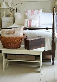 Image Centeroom Farmhouse Bedroom Done With Whitewashed Wood Vintage Painted And Stained Furniture And Boxes And Digsdigs 77 Farmhouse Bedroom Design Ideas That Inspire Digsdigs