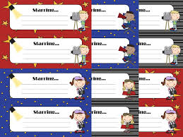 diary of a not so wimpy teacher a reely great hollywood theme name tags for