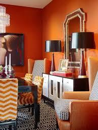 Bright Orange Bedroom Ideas 2