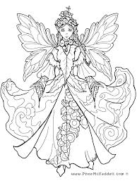 Small Picture Fairy Coloring Pages Fancy Adult Fairy Coloring Pages Coloring
