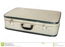 Royalty-Free Stock Photo. Download Closed vintage suitcase ...