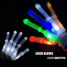 Light Gloves Super Promo 1e12e Laser Gloves Led Gloves Costume Led