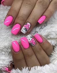 Pink Nail Art Design 69 Lovely Pink Nail Art Designs Page 60 Tiger Feng