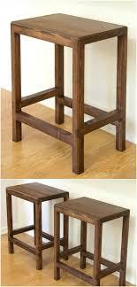 DIY 2X4 Half Lap Barstool