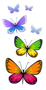 spring butterfly clipart. Plain Spring Clipart Of Butterflies Spring Intended Butterfly S