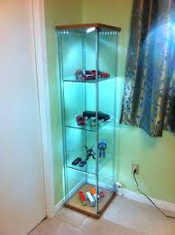detolf glass door cabinet lighting installing led light strips space cabinets and more las vegas i55 cabinet