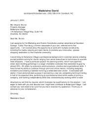 Davidson College Cover Letter Guide