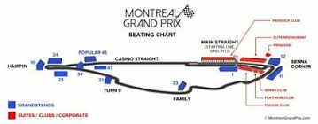 4 Formula 1 Tickets Grand Prix Of Montreal Friday Tickets