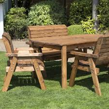 scandinavian outdoor furniture. 6 Seat Rectangular Large Table Scandinavian Redwood Garden Furniture Outdoor A