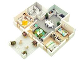 house plans for 3 bedroom house small house plan in with three bed rooms
